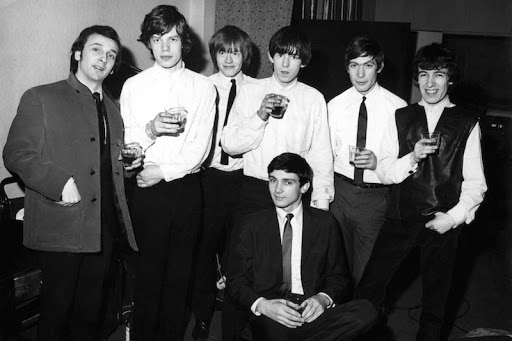 Gene Pitney with Phil Spector and The Rolling Stones