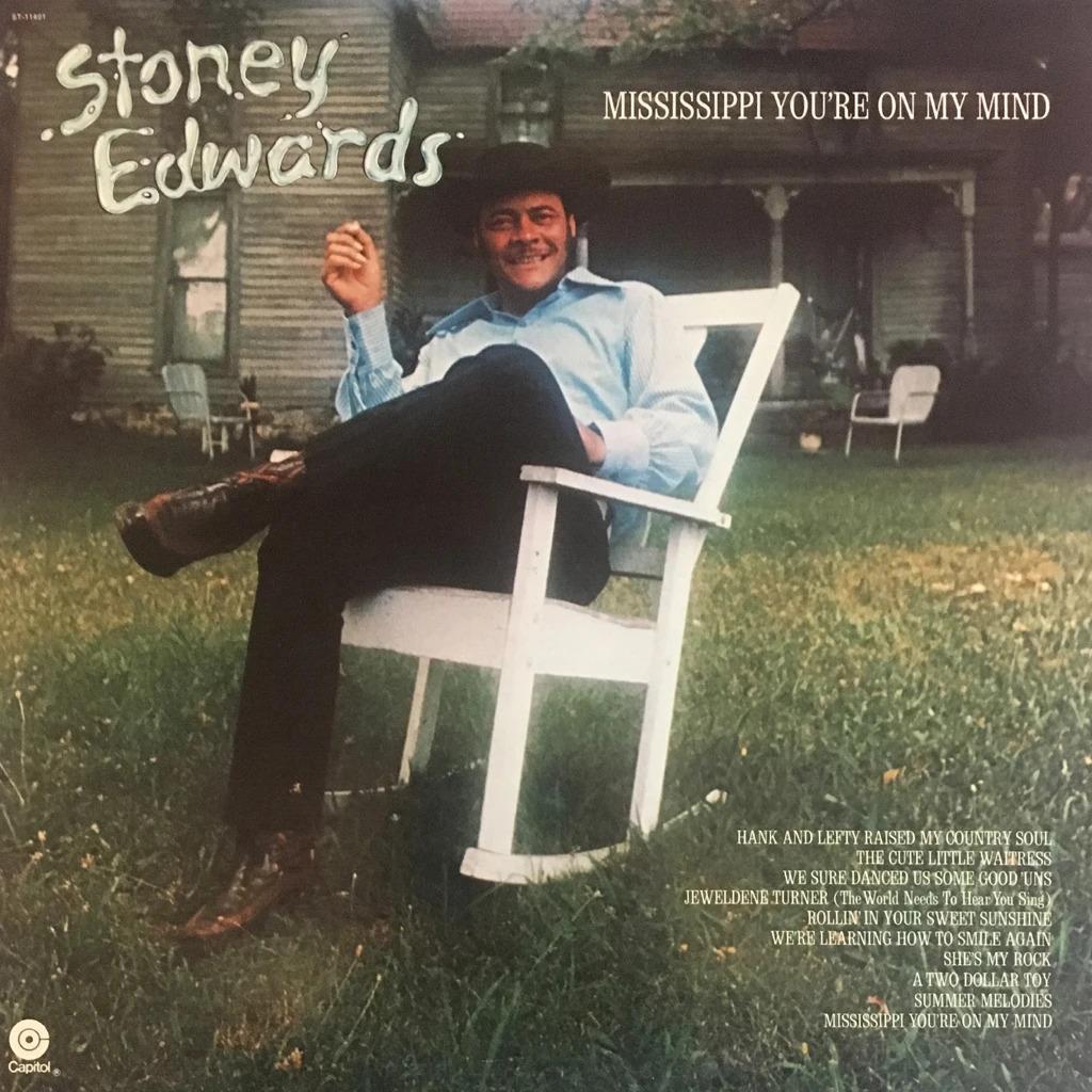 Stoney Edwards Mississippi You're On My Mind LP