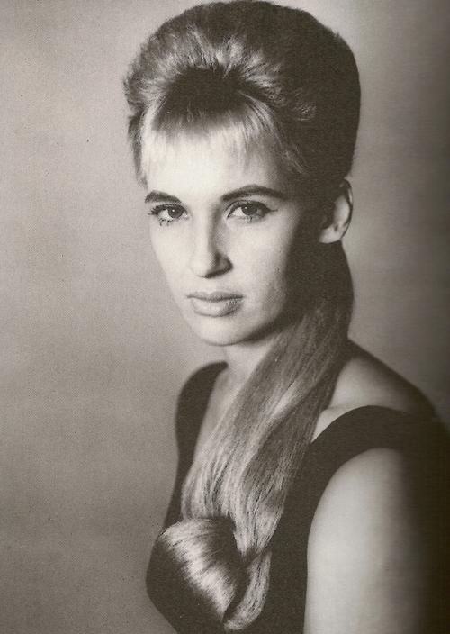Tammy Wynette ponytail wig