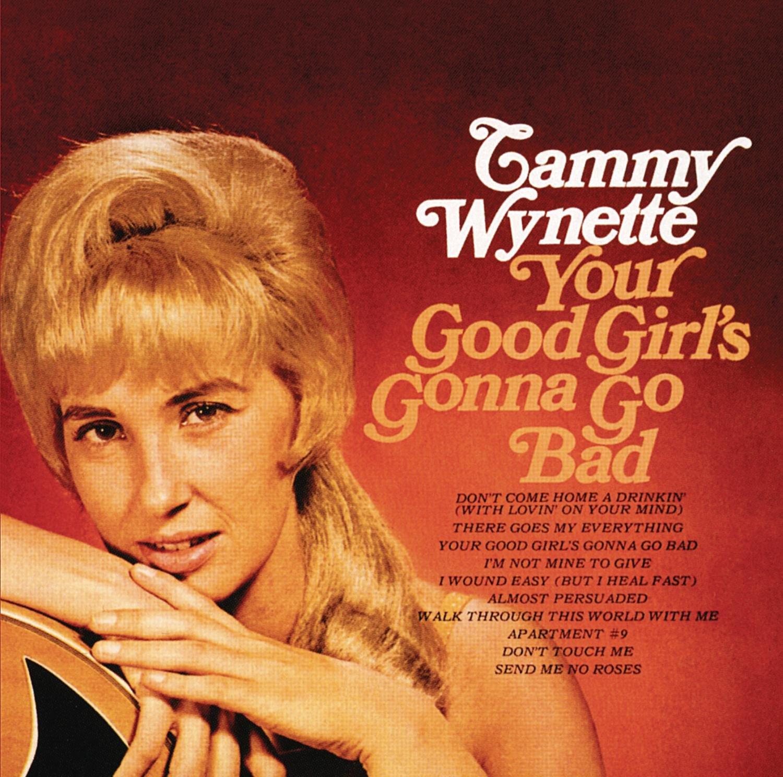 Tammy Wynette Your Good Girl's Gonna Go Bad LP