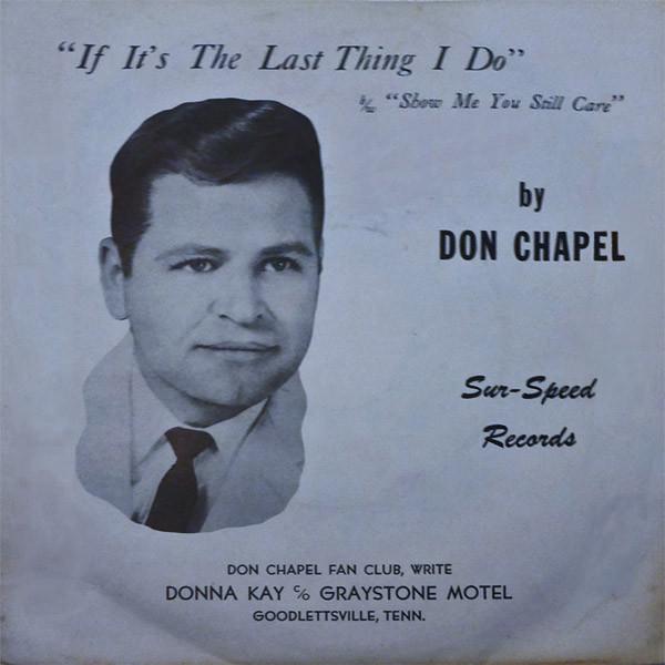 early Don Chapel single