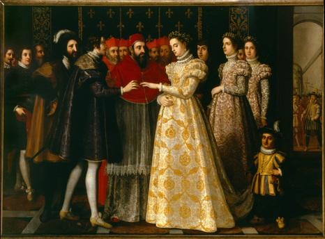 Henri II marries Catherine de Medici