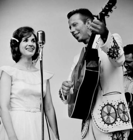 Norma Jean with Porter Wagoner