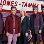 Tammy Wynette and George Jones with Jones Boys